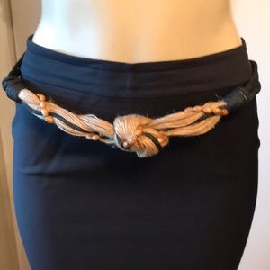 Accessories - Macrame and bead belt